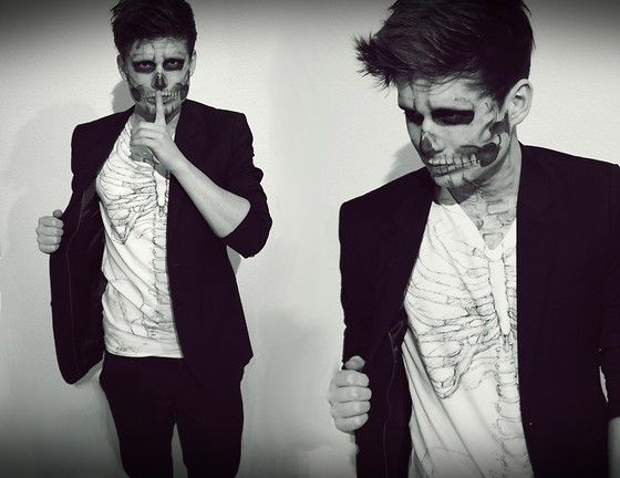 17 Best Ideas About Diy Skeleton Costume On Pinterest