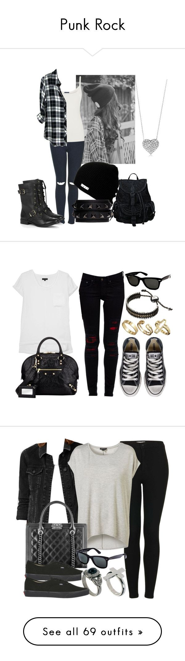 """""""Punk Rock"""" by pebble2000 ❤ liked on Polyvore"""