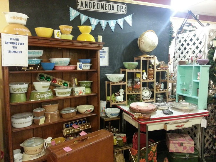 My Booth At The Antique Mall Vintage Love Pinterest
