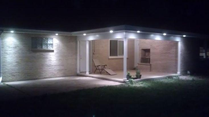 Recessed Porch Light Fixtures In Outdoor Recessed