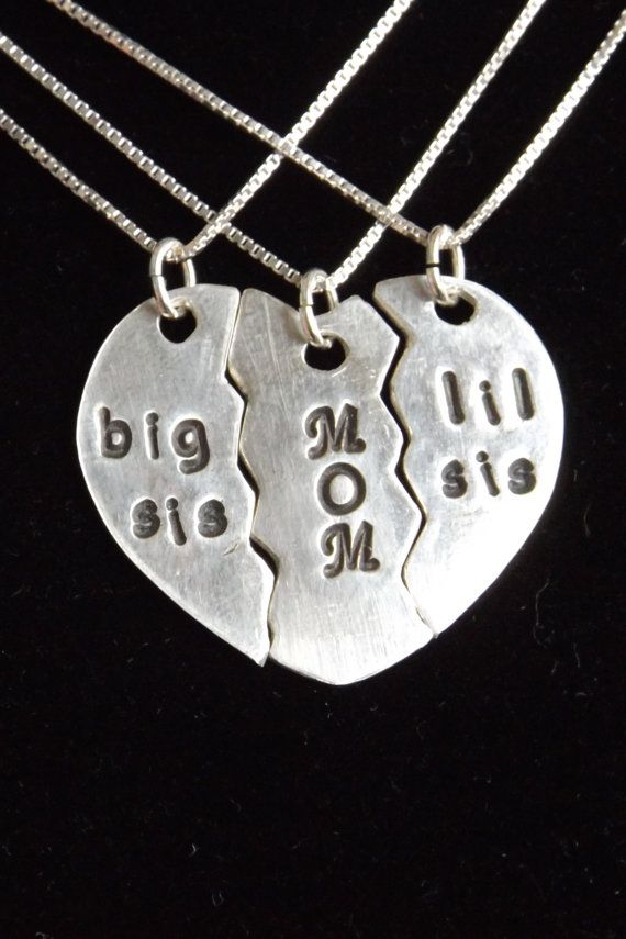 1000 Ideas About Mother Daughter Necklace On Pinterest