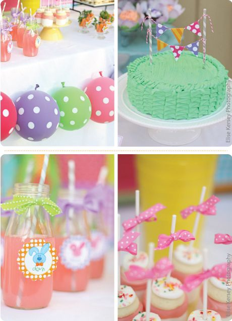 Pastel Colors Polka Dots Perfect For Any Girl Theme