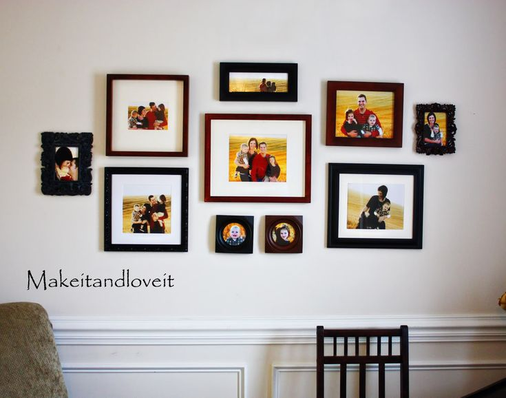 561 best images about wall gallery ideas on pinterest on wall frames id=52656