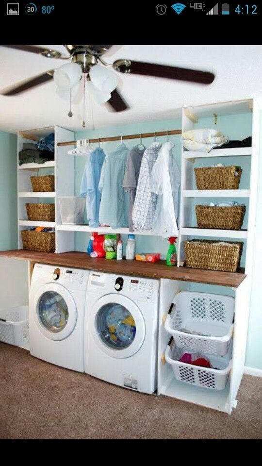Laundry Room Makeover Ideas For Your Mobile Home Design
