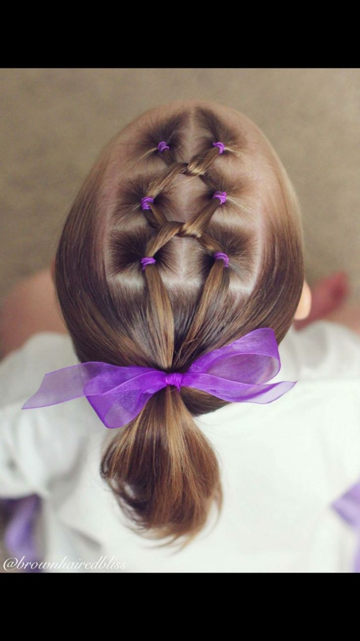 Best images about peinados niñs on Pinterest Her hair Easy