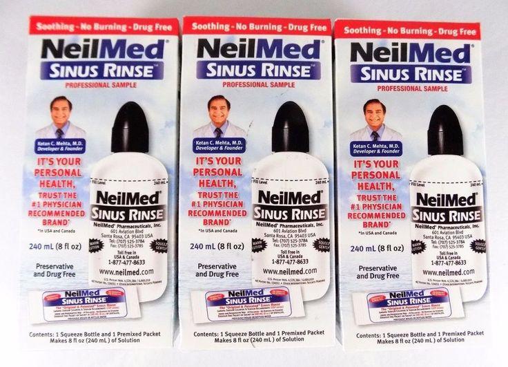 #NeilMed #saline #sinus #rinse 8 Oz./240 Ml Size Squeeze