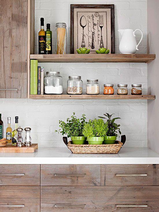 179 best images about open shelves on pinterest open kitchen shelving in kitchen and shelves on kitchen decor open shelves id=38601