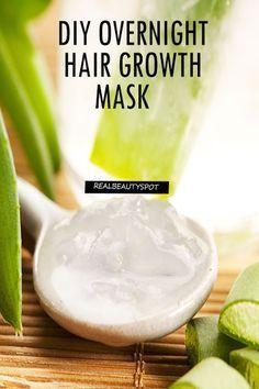 DIY 3 OVERNIGHT HAIR MASKS FOR BEAUTIFUL HAIR Hair