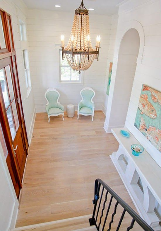 Foyer Of A WaterColor Beach Home Fab Foyers Pinterest