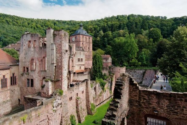 Image result for Heidelberg Castle. The epitome of German romanticism