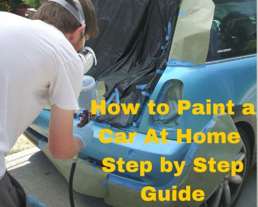 How To Spray Paint A Car At Home
