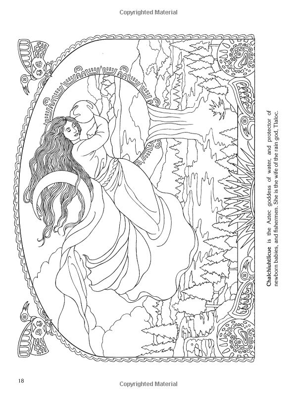 best images about goddess coloring pages on pinterest