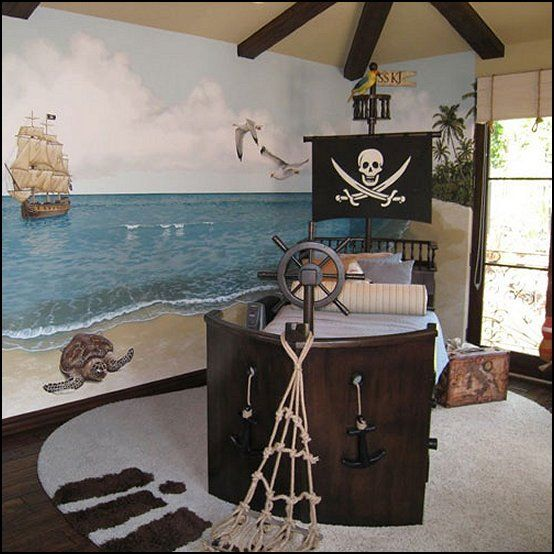 Pirate Theme Bedrooms Decorating Ideas And Themed Decor