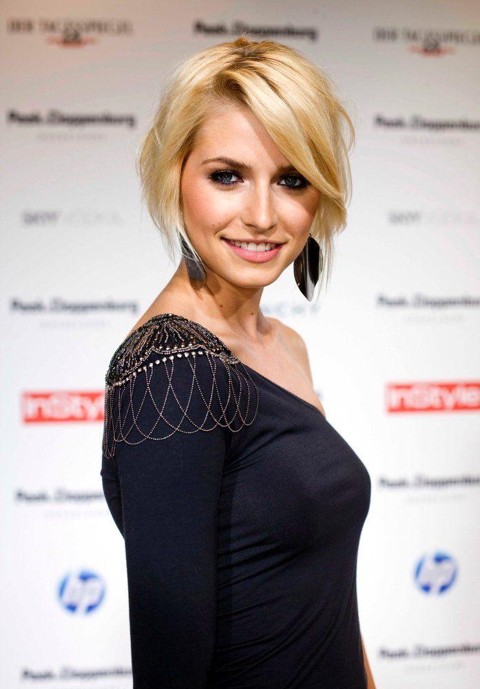 Lena Gercke Short Hair Hair Pinterest Hair Shorts