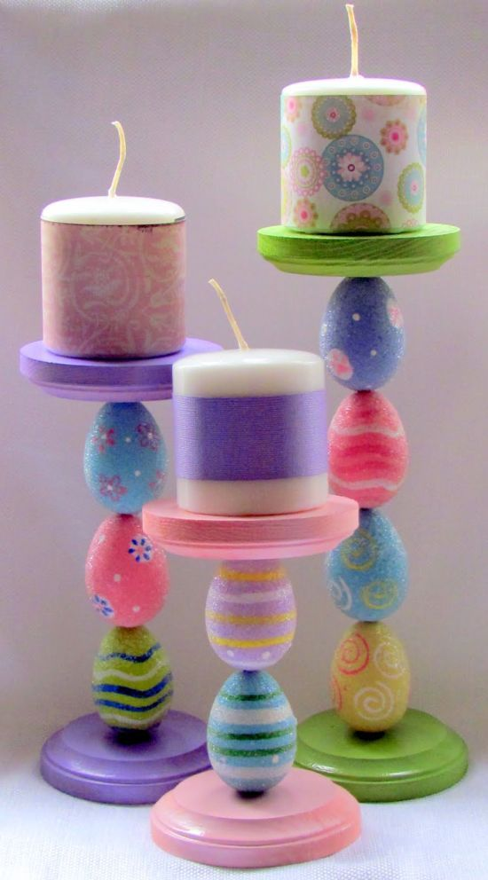 dollar store craft…cute!!  I may do this