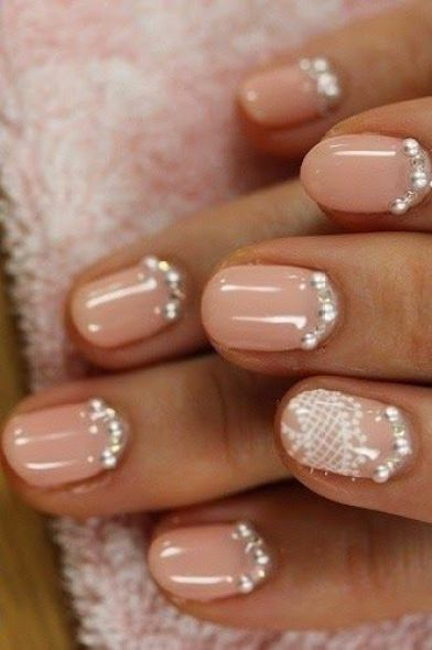 10 diseños de uñas para novias | Imágenes de diseños originales de uñas