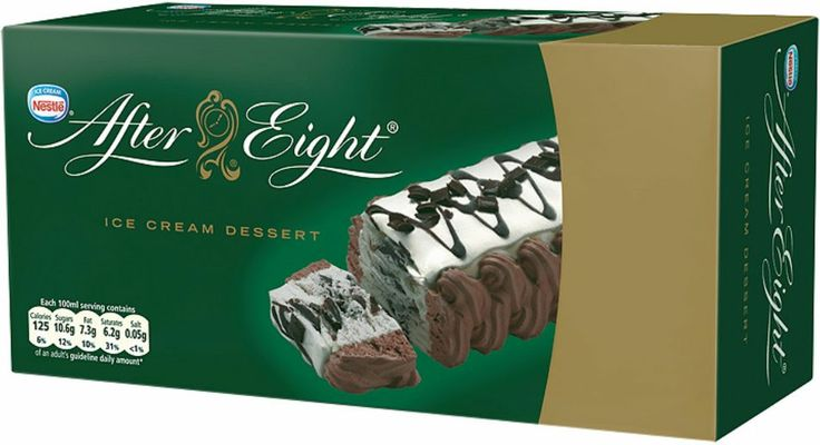 Nestle After Eight Ice Cream Dessert Ice Cream Pinterest Ice Cream And Desserts