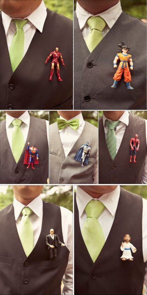 Solapas divertidas para el novio - Foto: Green Wedding Shoes: