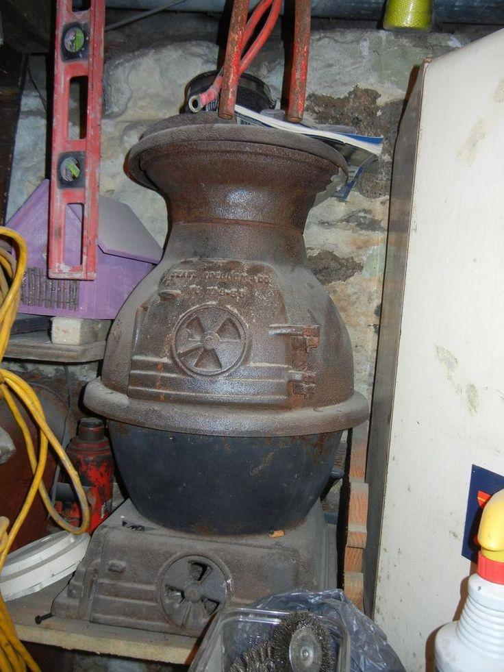 Antique Sears Roebuck Amp Co No 119 59 Cast Iron Pot Belly