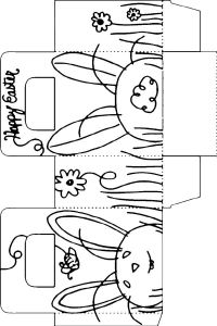 Easter basket template for toddlers merry christmas and happy easter basket template for toddlers negle Image collections