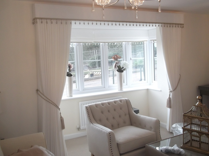 Curtains With Pelmet With A Beaded Trim Window Treatments Pinterest Curtains