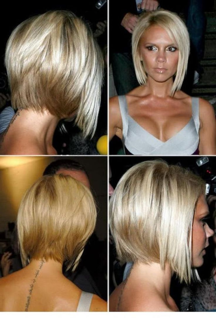 Chin Length Hairstyles Back View Google Search