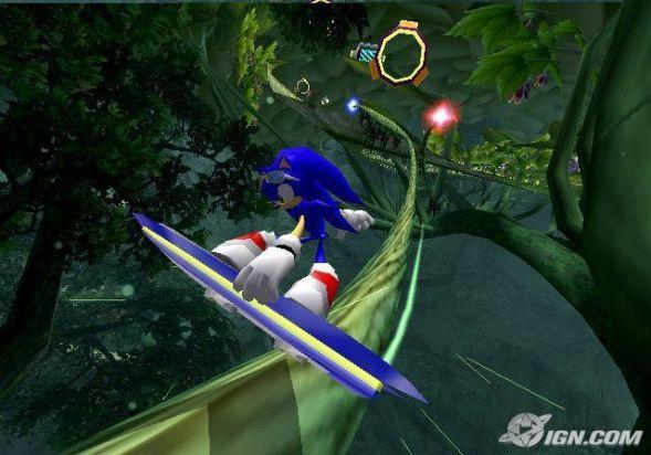 Sonic Riders PC screenshots