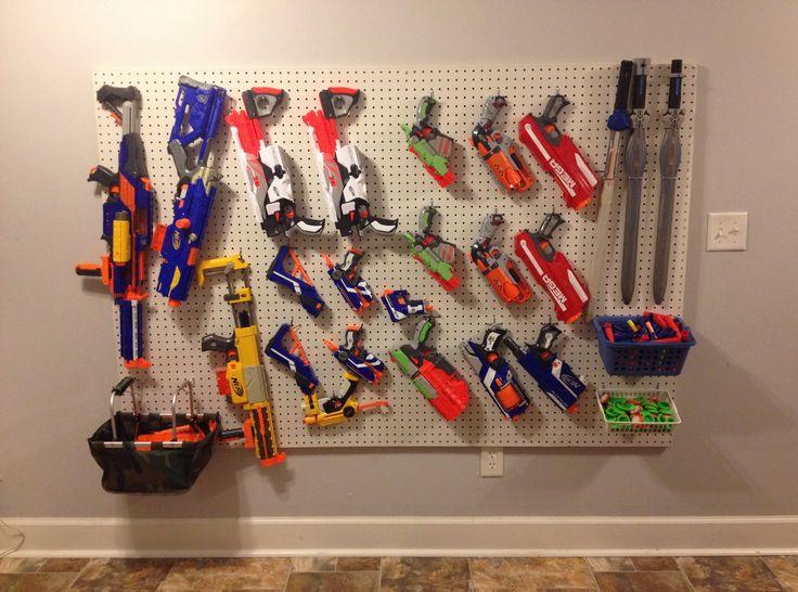 Nerf Gun Storage Marc Camprub 237 Marchand Organizing