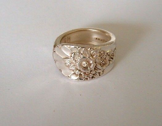 Silver Spoon Ring Recycled Spoon Ornate by LTCreatesJewelry, $15.00 I want!