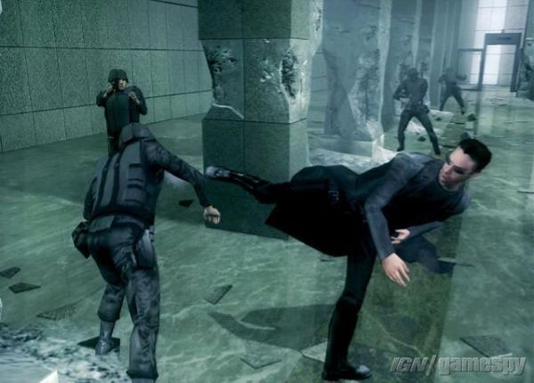 The Matrix Path of Neo PC Game Screenshots