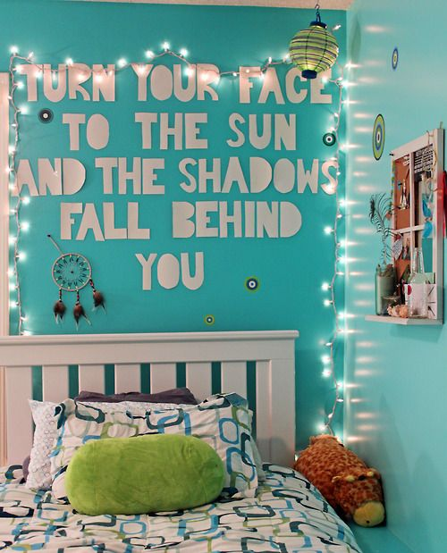 Tumblr Age Bedroom Room Ager Wall Quote Lights Find
