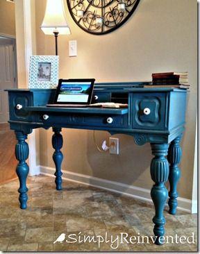91 best desks secretaries chalk paint ideas images on on desk color ideas id=78604