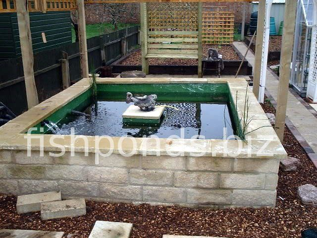 Building Above Ground Garden Pond