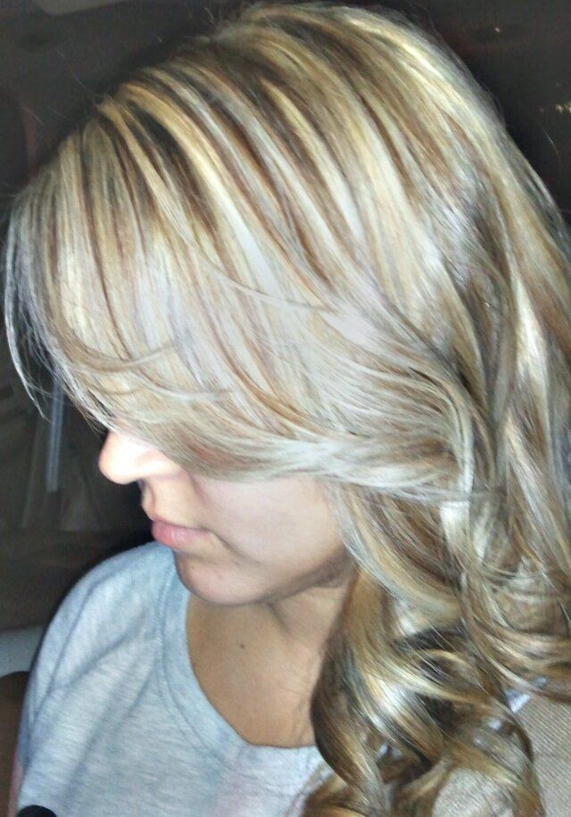 Ash Blonde Wbrown Lowlights Hair Color And Ideas