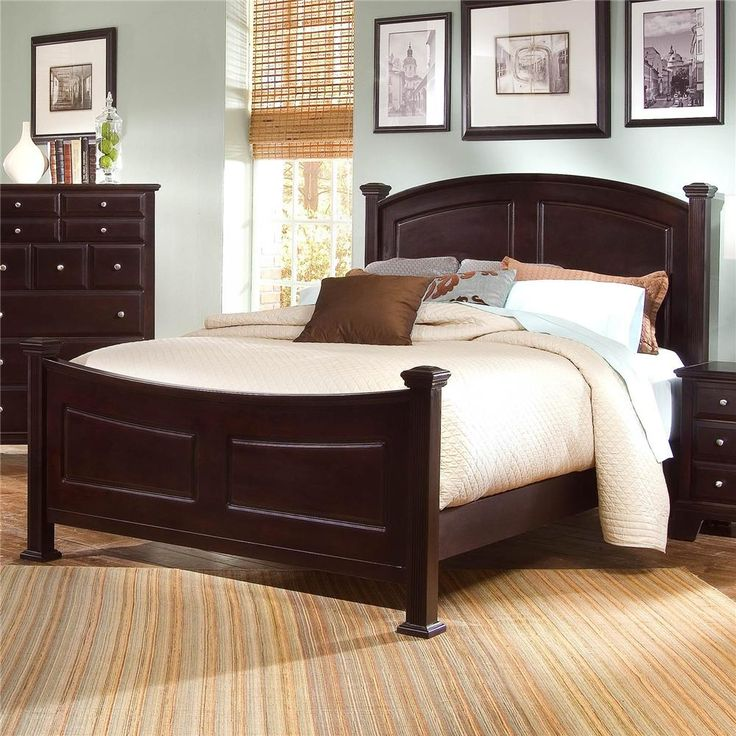 Hamilton Queen Panel Bed By Vaughan Bassett Virginia Bedrooms And Washington
