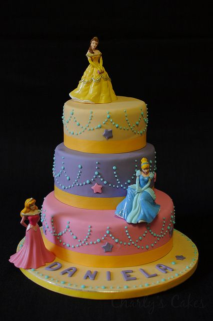 Princess Cake 183 Tarta De Princesas Cake And Fondant