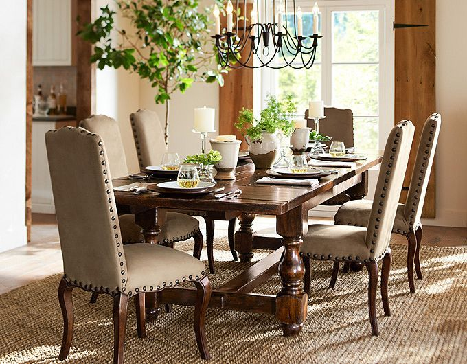 78+ Images About Pottery Barn Dining Room On Pinterest
