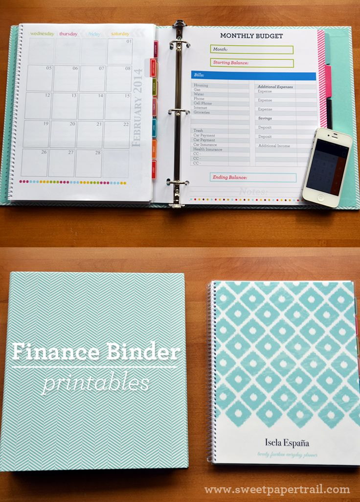 I'm no newbie to using binders to organize the paper clutter at home. Last year I shared with you how I used a Family