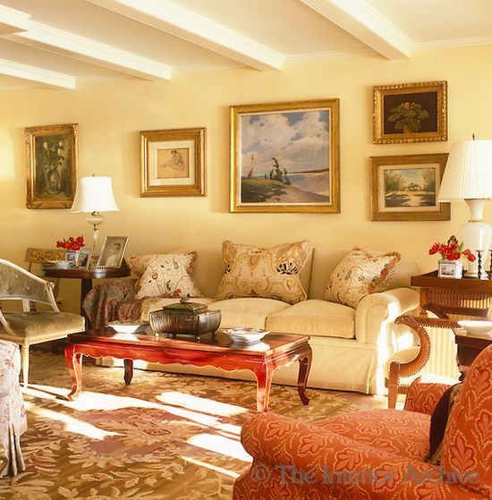 yellow living room interorarchive photoshelter home on color schemes for living room id=47355