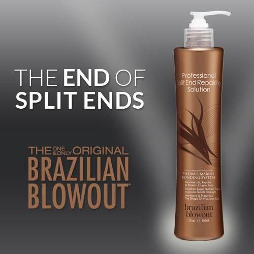 Brazilian Blowout Split End Treatment Hair