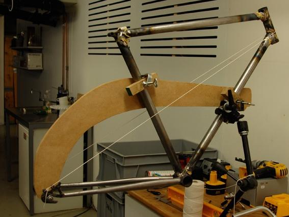 Homemade Bike Frame Jig | Frameswall.co