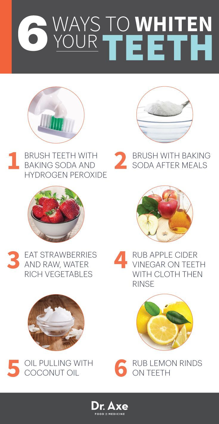 how to whiten teeth with braces with baking soda
