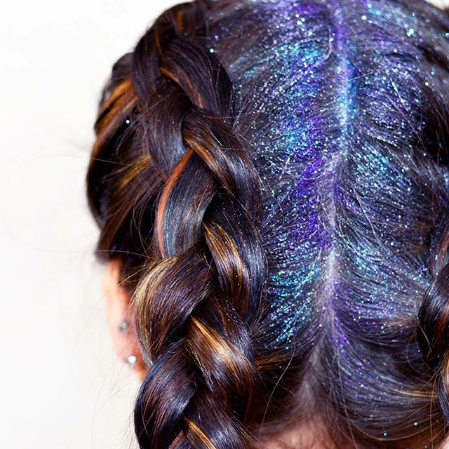 We Are Obsessed With This Glitterroots Braid By