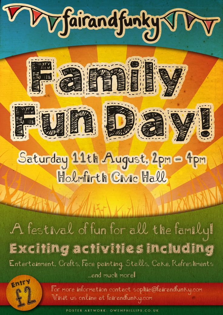 Fairandfunky Fun Day Poster A3jpg 10001414 Pixels