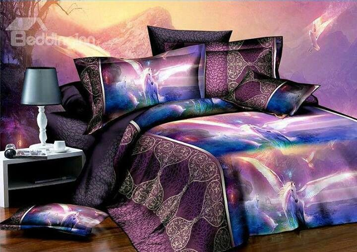 Unicorn Bedding Pinterest Unicorns