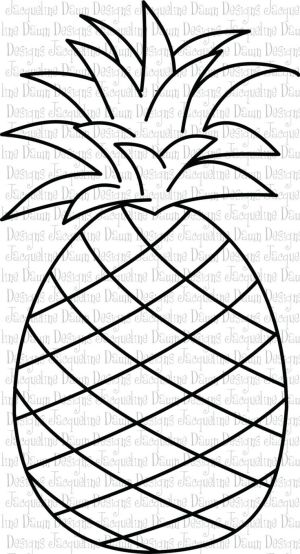 pineapple clipart black and white  Google Search | NEW