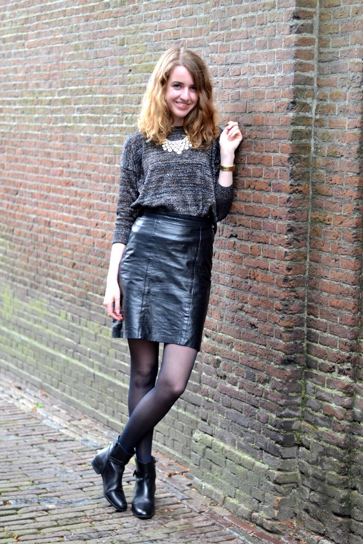 Leather Skirt From Good Blogsite KALCCI Style
