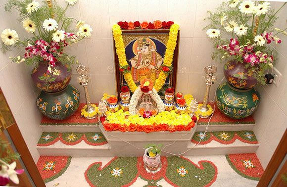 Traditional Amp Modern Pooja Room Designs Incorporated In