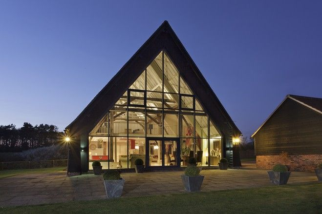 Europe House Of The Day Converted English Barn Photos