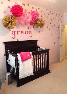 25 Best Ideas About Pink Gold Nursery On Pinterest Pink